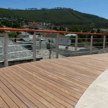 Deck with Stainless Balustrade