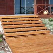 Hard Wood Stairs