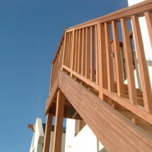 Wood Stair Balustrade
